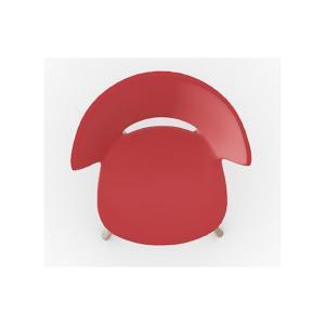 カリガリス  ダイニングチェア バヒアMW BAHIA  レッド座面×ナチュラル脚 ポイント5倍 送料無料|lepice|04