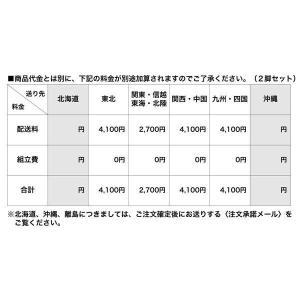 カリガリス ダイニングチェア ジャム  JAM  ホワイト&ブラック座面×マットホワイト脚(2脚セット)  ポイント5倍|lepice|03