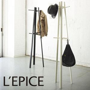 コートハンガー アクセス・エヴォ ホワイト/ブラック|lepice