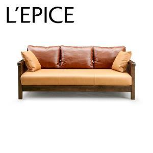 3人掛けソファA ROSE MARY ウォルナット|lepice