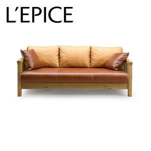 3人掛けソファA ROSE MARY オーク|lepice