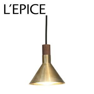 国産 ペンダントライト EPOCA(エポカ) ゴールド LEDモジュール 520ルーメン(白熱電球60W相当) 電球色|lepice