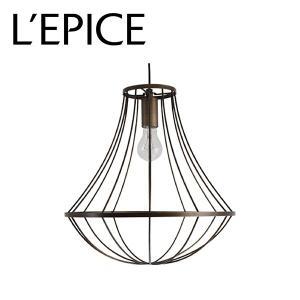国産 ペンダントライト  Gemma(ジェンマ) アンティックブラウン LEDエジソン球 730ルーメン(白熱電球60W相当)|lepice