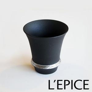 大吟醸・吟醸用ぐい呑み SAKE GLASS 『いぶし銀』|lepice