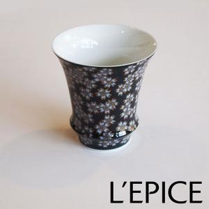 大吟醸・吟醸用ぐい呑み SAKE GLASS 『夜桜』|lepice
