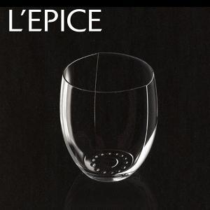 イタリアRCR製 スパークリングワイン専用 グラス スプマンテ 520cc クリスタル  2客セット 化粧箱入 lepice