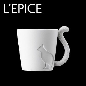 マグカップ ネコ キャンドルホルダーにも MUGTAIL MUG CAT|lepice