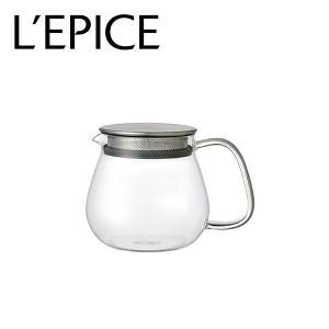 ティーポット 耐熱ガラス クリア 460ml  キントー ユニティー|lepice