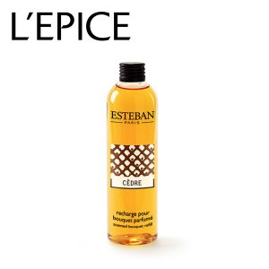 エステバン ESTEBAN セダー フレグランスリフィル 250ml|lepice