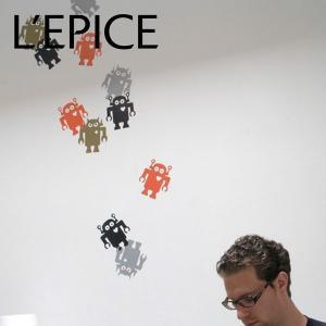 何度でも貼ってはがせる リスティック BLIK ジャイアントロボット|lepice