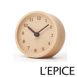 MUKU  desk  clock 無垢 デスククロック ブナ  LC12-05 BN|lepice