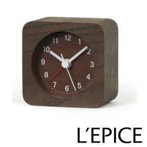 rest レスト アラームクロック ブラウン  LA13-13 BW|lepice