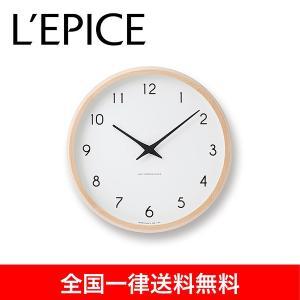 カンパーニュ 電波時計 ナチュラル|lepice