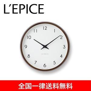 カンパーニュ 電波時計 ブラウン|lepice