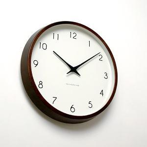 カンパーニュ 電波時計 ブラウン|lepice|02