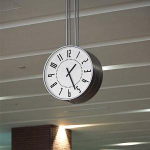 eki clock  駅クロック ホワイト 五十嵐威暢  TIL16-01 WH  送料無料|lepice|03