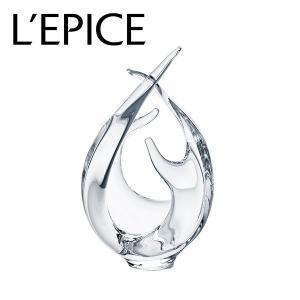 スガハラ フラワーベース ranke ランケ クリア  手作り 一輪挿し ギフト|lepice