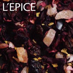 リーフティー ハーブミックスティ パイナップル グレープ ハイビスカス マンゴー フルーツカクテル  100g ホテル仕様|lepice
