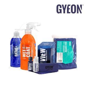 断然お得! GYEON ジーオン スターターキット A-キット (Bathe+、New Wetcoat、View、Silkdryer)|leroyshop