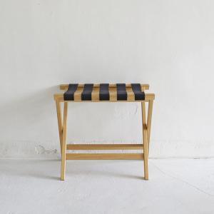 <ナチュラル>木製ラゲージラック・バゲッジラック ホテルシリーズ | baggage rack ||  L.E.S Original|les|03