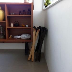 <ダークブラウン>木製バゲージラック・バゲッジスタンド | baggage rack HOTELS ||  L.E.S Original|les|05