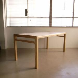アジム木製ダイニング テーブル  バレナ ホワイトアッシュ | Wood dining table | white ash |||les