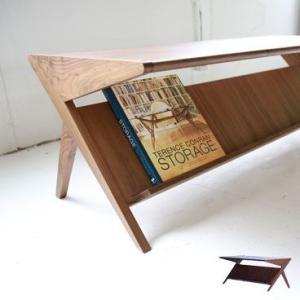 デルタ ローテーブル <ウォールナット> AJIM|les