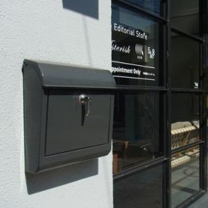 鍵付きメールボックス(郵便受け) 全8色|les