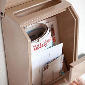 ダイヤルロック式 メールボックス(郵便受け) 全8色|les