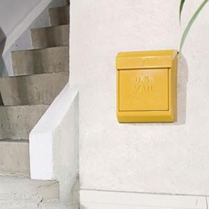 ダイヤルロック式 USメールボックス(ポスト) 全8色|les