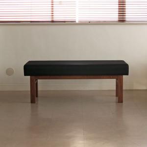 <生地ランクA/ウォルナット>木製ベンチ(背もたれなし) アウル | OWL dining bench WALNUT||  北欧 ミッドセンチュリー カフェ|les