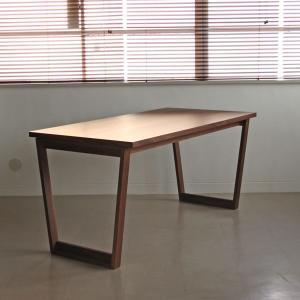 <ウォールナット>木製ダイニングテーブル アウル | OWL    北欧 ミッドセンチュリー カフェ|les|03