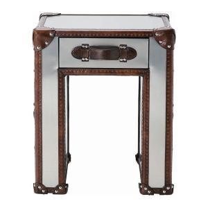 スラブ ランプテーブル ブラッシュドスチール | SLAB LAMP TABLE (BRUSHED STEEL) ||  HALO|les