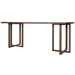 ストローク ダイニングテーブル ウォールナット | stroke dining table walnut  || AJIM アジム|les