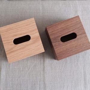 <ハーフ・ウォルナット>木製スライド式 ティッシュケース |les|06