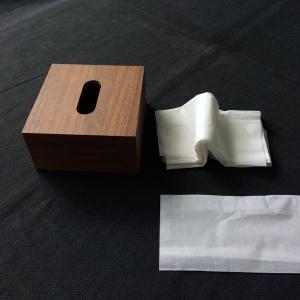 <ハーフ・ウォルナット>木製スライド式 ティッシュケース |les|07
