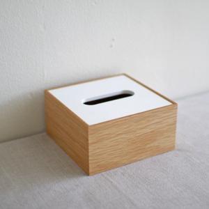 <ハーフサイズ/OAK/WH>木製蓋式ティッシュボックス ホテルズ |les|02
