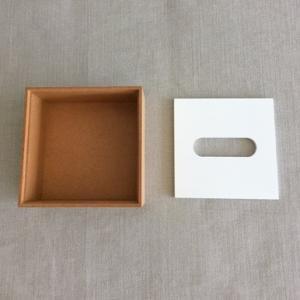 <ハーフサイズ/OAK/WH>木製蓋式ティッシュボックス ホテルズ |les|03