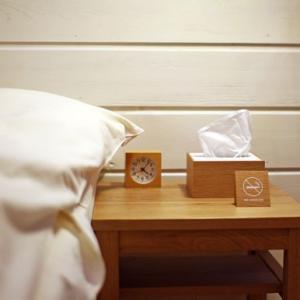 <ハーフサイズ/OAK/WH>木製蓋式ティッシュボックス ホテルズ |les|04