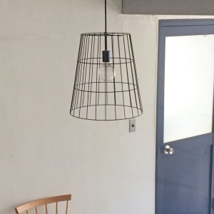 ワイヤーバスケットランプ | Wire basket lamp|les
