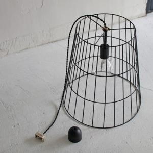 【今だけ半額】ワイヤーバスケットランプ | Wire basket lamp|les|03