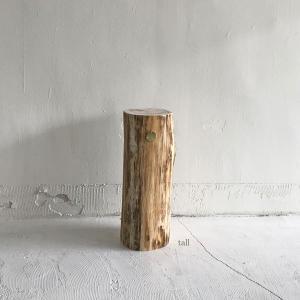 <tall>小丸太サイドテーブル|les