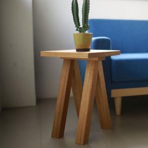 ウッドブレスサイドテーブル Wood Brace Side Table  | CLASKA|les
