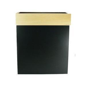 分別対応木製ダストボックス ブラック  ||  HANGER DUST W  |les