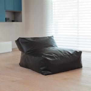 ザ・ソファー 1P PVC ブラック|les