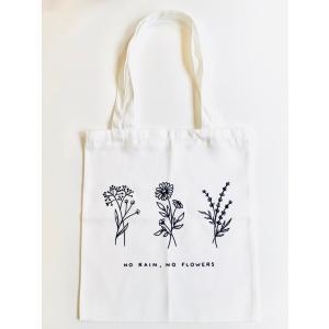 【エコバッグ】おしゃれ 花柄 トートバッグ 花 キャンバスバッグ ショッパー 美的 ボタニカル ハンドバッグ ショッピングバッグ アロマ ハーブ  可愛い lessentiel-japon