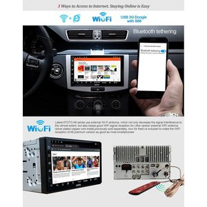 New ATOTO A6 Pro A6Y2721PR Double DIN Android Car ...