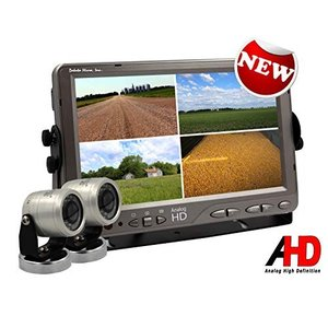 High Definition Backup Camera System, AgCam 9in Qu...