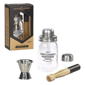 Gentlemen's Hardware Muddler and Glass Jar Cocktai...