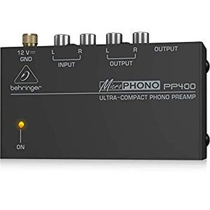 Behringer Microphono PP400 Ultra-Compact Phono Pre...